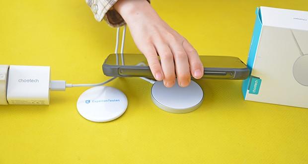 Choetech MagSafe kabellos Ladegerät 20W im Test - ideal für den Einsatz zu Hause oder in Ihrer Tasche für Reisen