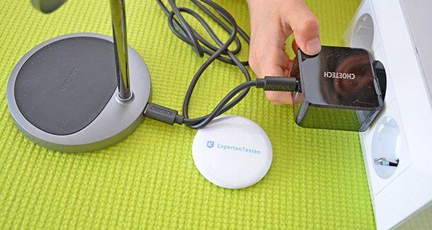 Choetech MagSafe kabellos Ladegerät 30W im Test - der hochwertige Chipsatz und die Premium-Komponenten sorgen für ein schnelles und stabiles Laden
