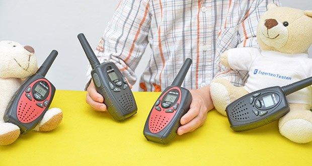 Retevis RT628 Kinder Walkie Talkie im Test - die Sperrtastatur verhindert, dass Kinder den Kanal wechseln