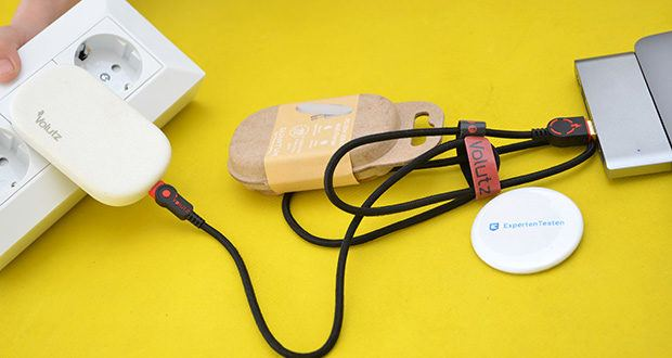 Volutz Quantum 20W USB-C Ladegerät im Test - eine clevere Möglichkeit, alles mit Stil schnell aufzuladen