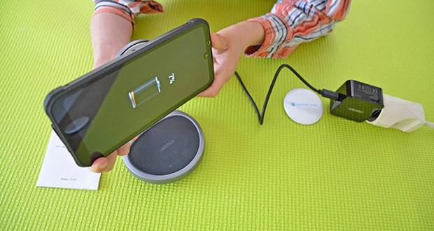 Choetech MagSafe kabellos Ladegerät 30W im Test - die magnetische Verbindung sorgt für ein sicheres Aufladen Ihres Telefons