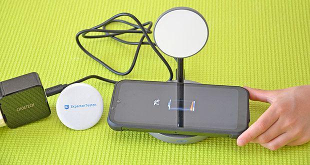 Choetech MagSafe kabellos Ladegerät 30W im Test - CHOETECH-führende Technologie für drahtloses und sicheres Laden