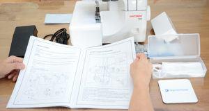 Welche Arten von Overlock Nähmaschinen gibt es in einem Test?