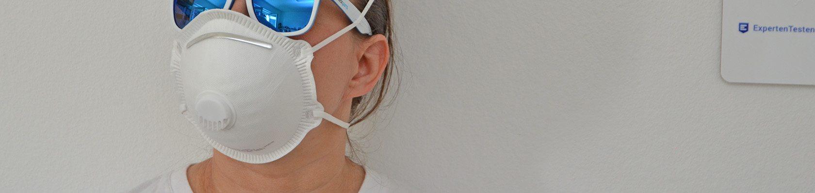 FFP2/FFP3 Atemschutzmasken im Test auf ExpertenTesten.de
