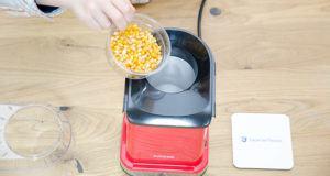 Pflege aus einer Popcornmaschine im Test und Vergleich