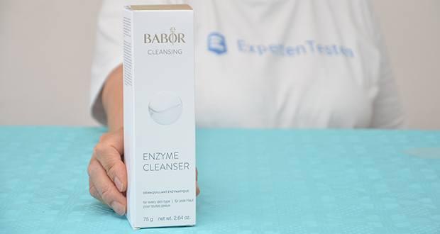 BABOR CLEANSING Enzyme Cleanser im Test - Gesichtsreinigung für reine Haut und frischen Teint