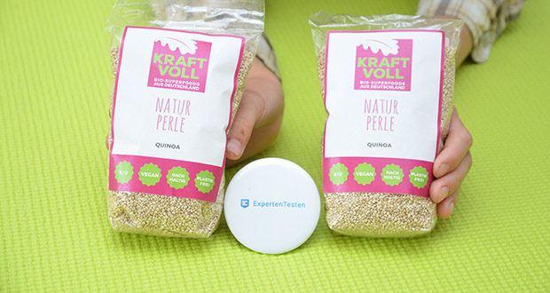KRAFTVOLL Bio Quinoa im Test - weißer Bio-Quinoa aus Deutschland