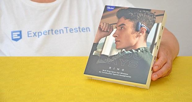 Mu6 Ring Open Ear Kabellose Kopfhörer im Test - ausgezeichnete Sport-Kopfhörer