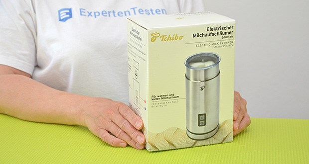 Tchibo Elektrischer Milchaufschäumer Edelstahl im Test - 2 Jahre Garantie