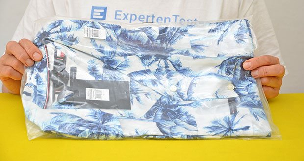 Tommy Hilfiger Herren Large Water Color Palm Hemd im Test - Modellnummer: MW0MW18894