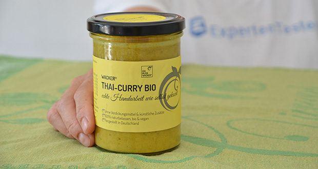 Wacker Bio Thai-Curry Suppe im Test - hergestellt in Deutschland