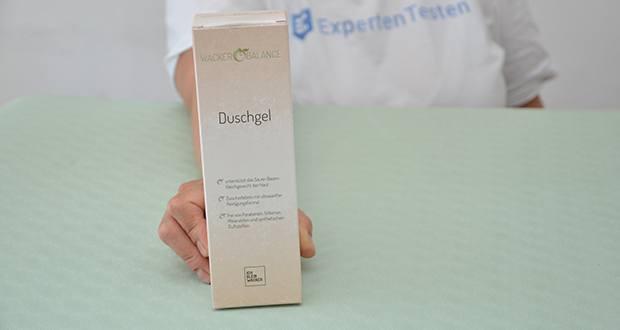 Wacker Duschgel im Test - hergestellt in Deutschland