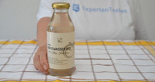 Wacker Kokoswasser im Test - 100% natürlich, vegan & glutenfrei