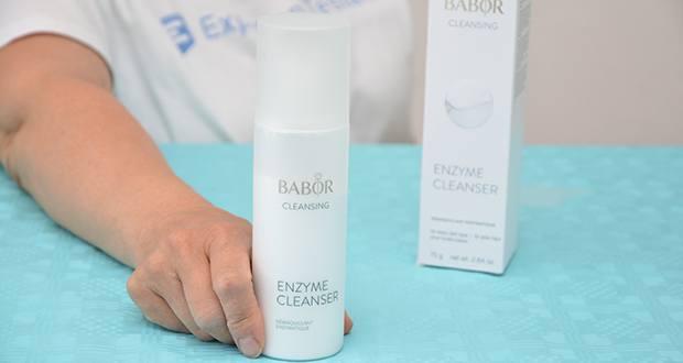 BABOR CLEANSING Enzyme Cleanser im Test - Eigenschaft: revitalisierend, reinigend, pflegend & glättend
