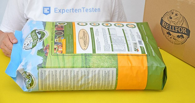 Bellfor Hypoallergenes Landgut-Schmaus Hundefutter im Test - Insektenprotein (82%) mit hoher Verdaulichkeit