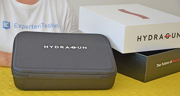 Hydragun Massagepistole im Test - Produktabmessungen: 21,7 x 17,5 x 6,2 cm; Gewicht: 1,04 kg