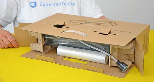 Inkbird Vakuumiergerät INK-VS01 im Test - Größe: 382x104x62mm; Gewicht: 1.05kg