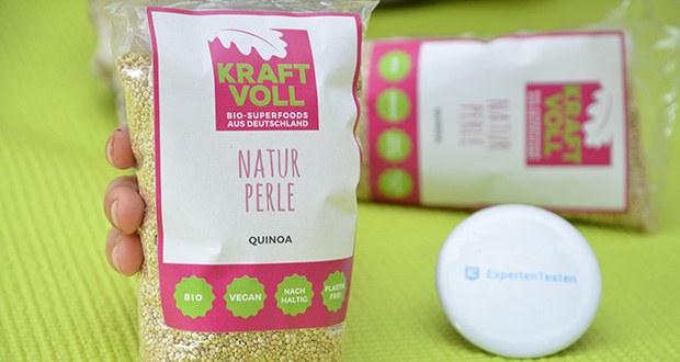 KRAFTVOLL Bio Quinoa im Test - Kontrollstelle: DE-ÖKO-037