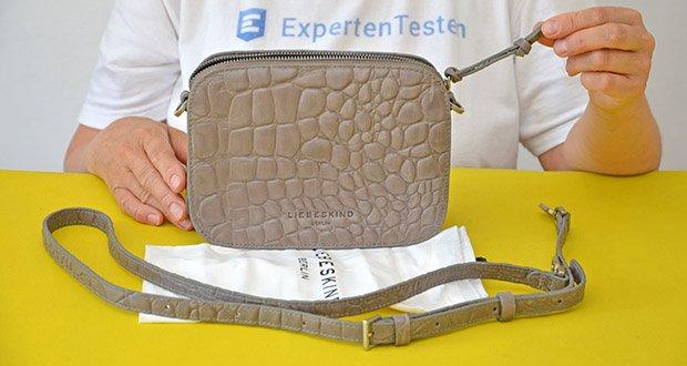 Liebeskind Berlin Damen Luka Umhängetasche im Test - Produktabmessungen: HxBxT 14.5cm x 20.5cm x 7cm