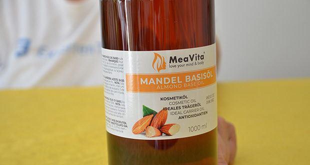MeaVita Mandel Basisöl im Test - 100% natürlich & vegan