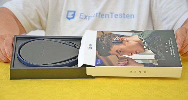 Mu6 Ring Open Ear Kabellose Kopfhörer im Test - kommt mit dem fortschrittlichen Bluetooth 5.0-Chip, verbessert die Signalstärke und verbessert die Übertragungsgeschwindigkeit
