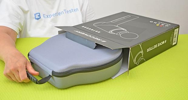 Orthomechanik OrthoGun 2.0 Massagepistole im Test - bürstenloser 160 Watt Motor