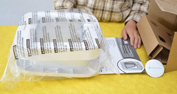 PetSafe Katzenklappe mit Chiperkennung im Test - Rahmen Maße BxH: 22 cm x 23,9 cm; Klappe Maße BxH: 14,6 cm x 13,5 cm