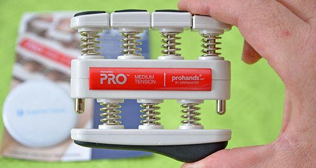 ProHands Medium Tension Fingertrainer im Test - der PRO ist der fortschrittlichste Hand Trainer