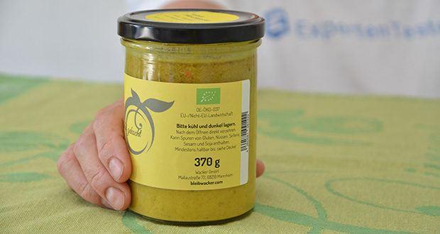 Wacker Bio Thai-Curry Suppe im Test - wird zu 100% aus naturbelassenen Bio-Zutaten hergestellt und kommt hervorragend ohne tierische Produkte aus