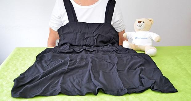 Amazon Essentials Damen Relaxed Fit – Fluid Twill – Midikleid im Test - dieses vielseitige und figurschmeichelnde Kleid lässt sich leicht von Tag zu Nacht wechseln