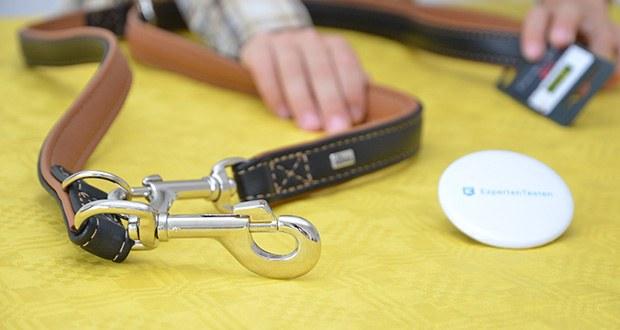 HUNTER Verstellbare Hundeführleine CANADIAN im Test - mit textiler Innenverstärkung für mehr Reißfestigkeit