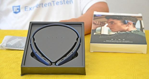 Mu6 Ring Open Ear Kabellose Kopfhörer im Test - Bluetooth Reichweite: 10 m