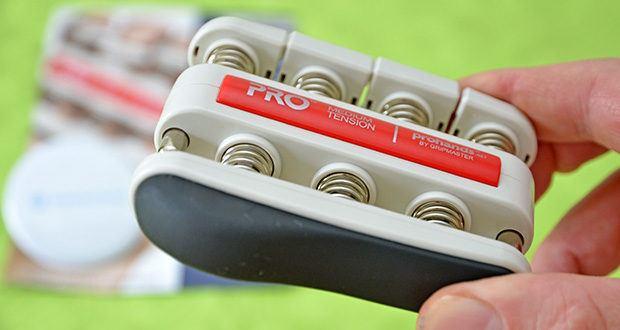 ProHands Medium Tension Fingertrainer im Test - basiert auf dem genialen Design des Gripmasters