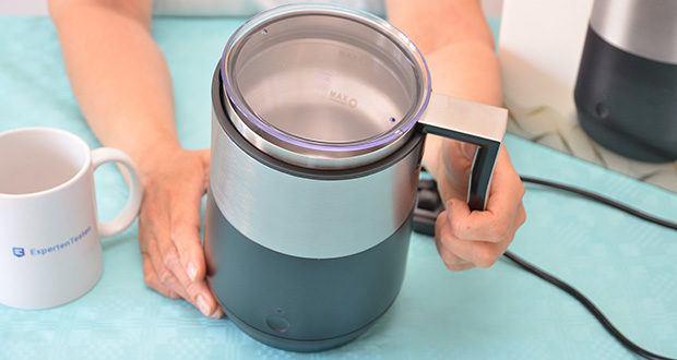 Tchibo Induktions-Milchaufschäumer Im Test - Material: Edelstahl und Kunststoff
