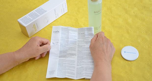 BABOR CLEANSING Gel & Tonic im Test - der Anti-OX Complex unterstützt den Eigenschutz der Haut vor schädlichen Umwelteinflüssen