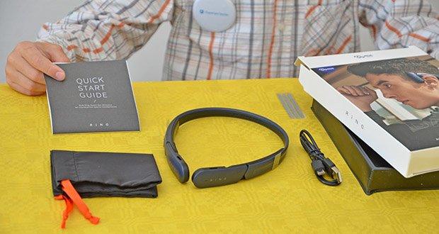 Mu6 Ring Open Ear Kabellose Kopfhörer im Test - wiegt 35 Gramm, ist leicht und belastet Ihre Ohren nicht