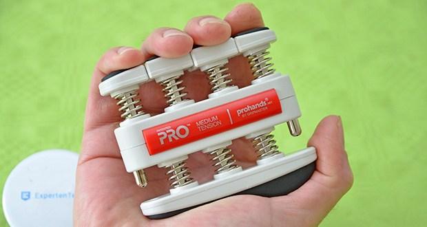 ProHands Medium Tension Fingertrainer im Test - das Modell mit der geeigneten Stärke für Sie