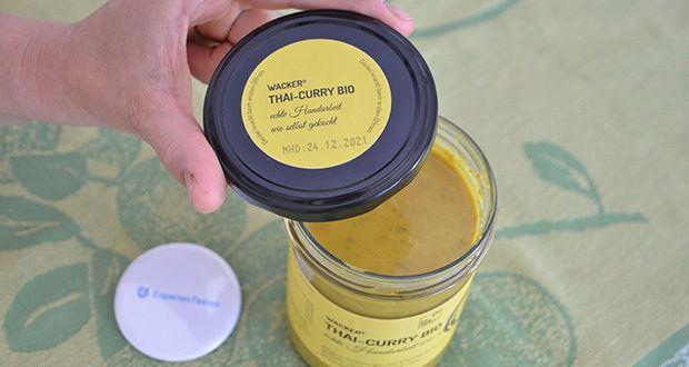 Wacker Bio Thai-Curry Suppe im Test - ohne Verdickungsmittel & künstliche Zusätze