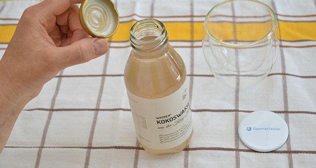 Wacker Kokoswasser im Test - kalorienarm & ohne Fett