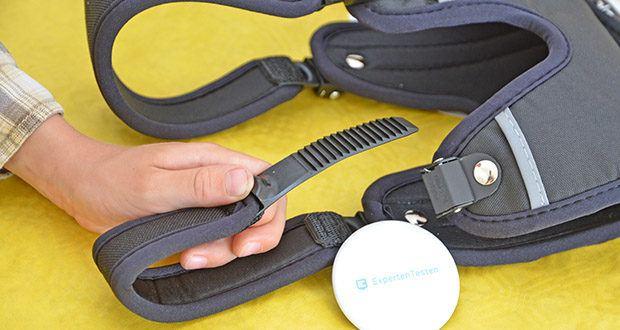 Ferplast Geschirr für Hunde Ergotrekking P im Test - die 6 Verschlusspunkte sind mit der patentierten Mikroregulation versehen, einfach anzulegen und zu verstellen