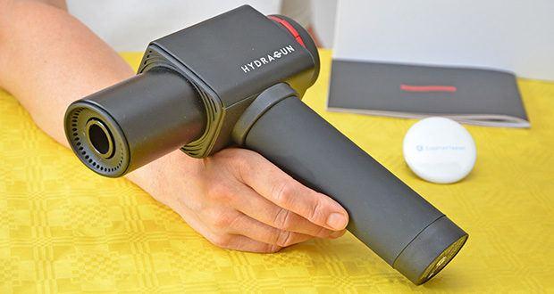 Hydragun Massagepistole im Test - Gehäusematerial: Aluminium-Chassis