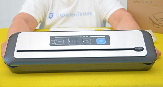Inkbird Vakuumiergerät INK-VS01 im Test - bietet zwei Modi zur Auswahl für verschiedene Arten von Lebensmitteln