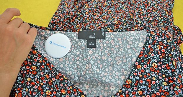MERAKI Damen Mini A-Linien-Kleid im Test - 100% Viskose