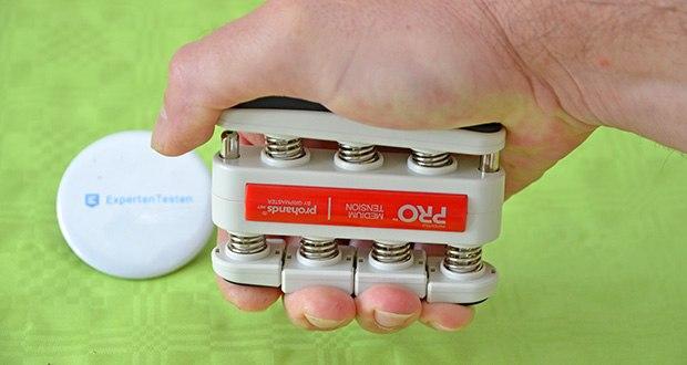 ProHands Medium Tension Fingertrainer im Test - richtet sich an Profis und generell an alle, die das Maximum aus ihren Händen herausholen möchten