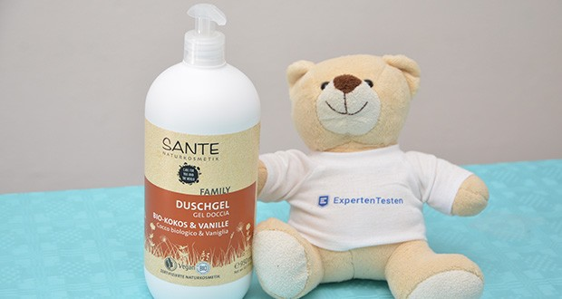 SANTE Naturkosmetik Duschgel Bio-Kokos & Vanille im Test - echte Naturkosmetik - NATRUE zertifiziert, Vegan, Glutenfrei, ohne Tierversuche