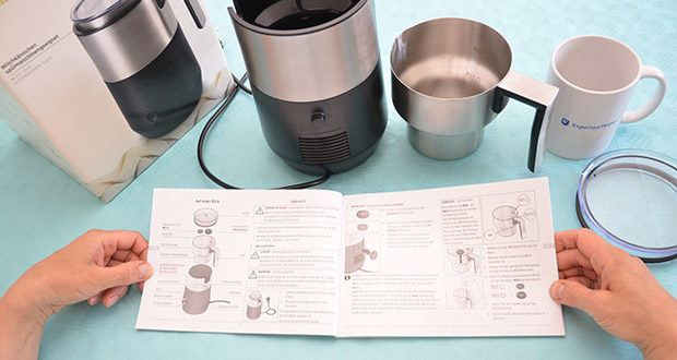 Tchibo Induktions-Milchaufschäumer Im Test - Überhitzungsschutz und Abschaltautomatik