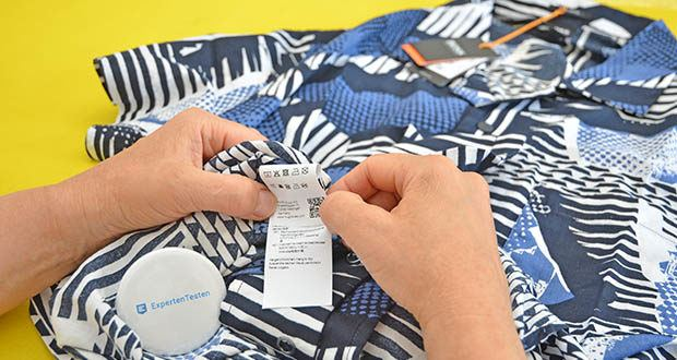 BOSS Herren Rhythm Regular-Fit Hemd im Test - Pflegehinweis: Maschinenwäsche