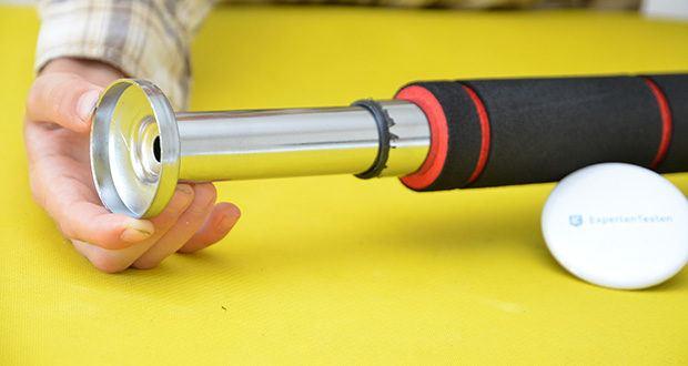 FFITNESS Pull Up Door Bar Türreck im Test - 60 cm bis 100 cm verstellbare Zugstange für Standardtüren oder Massivwände