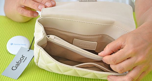 Gabor Damen Katja Flap Bag im Test - 1 Smartphonefach