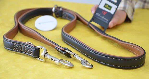 HUNTER Verstellbare Hundeführleine CANADIAN im Test - besonders weich und anschmiegsam für höchsten Komfort